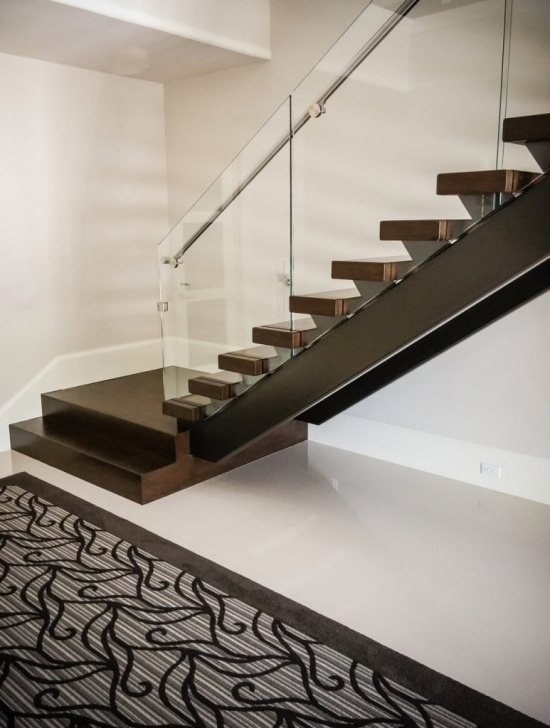 Surprising Stainless Steel Staircase With Glass Designs Photo 558