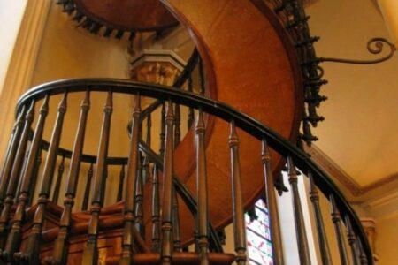 Unexplained Spiral Staircase