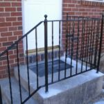 Surprising Wrought Iron Hand Railing Exterior Photo 962