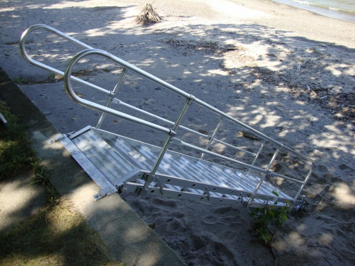 Top Aluminum Steps With Handrail Picture 541