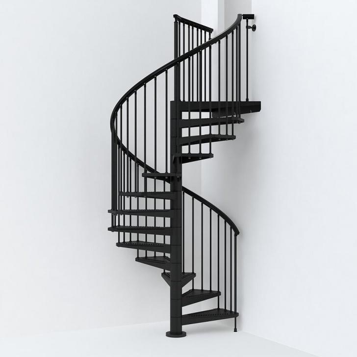 Top Black Spiral Staircase Photo 109
