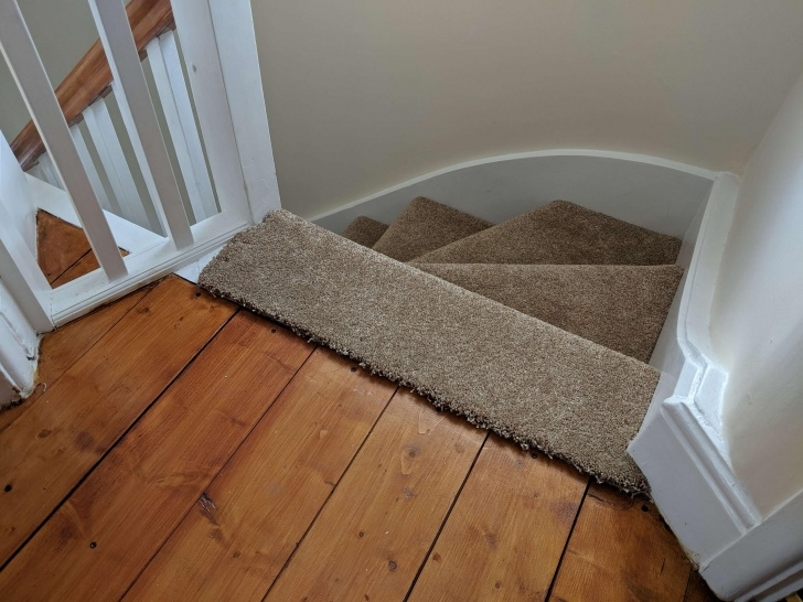 Top Carpeted Stairs With Wood Floors Photo 473