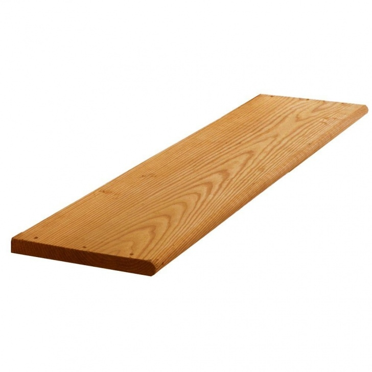 Top Cedar Stair Treads Picture 750