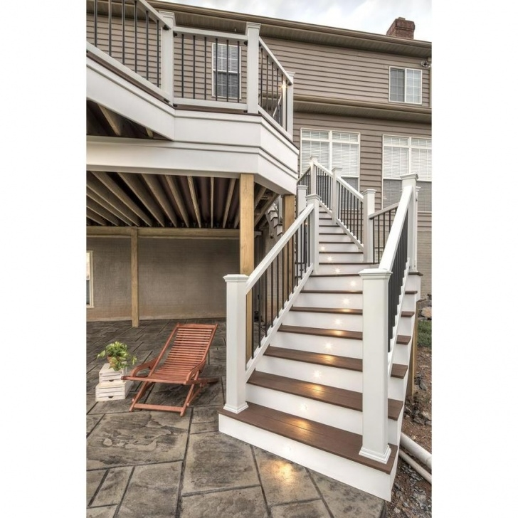 Top Composite Stair Railing Image 473