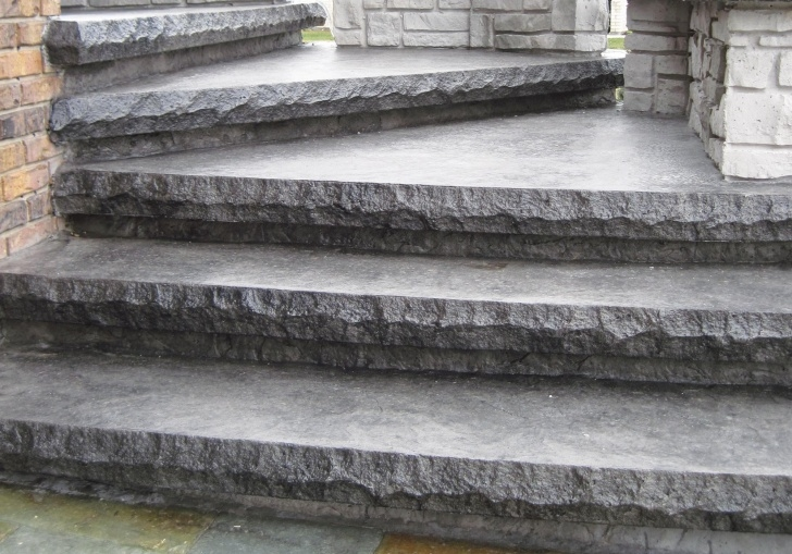 Top Concrete Exterior Stairs Image 084