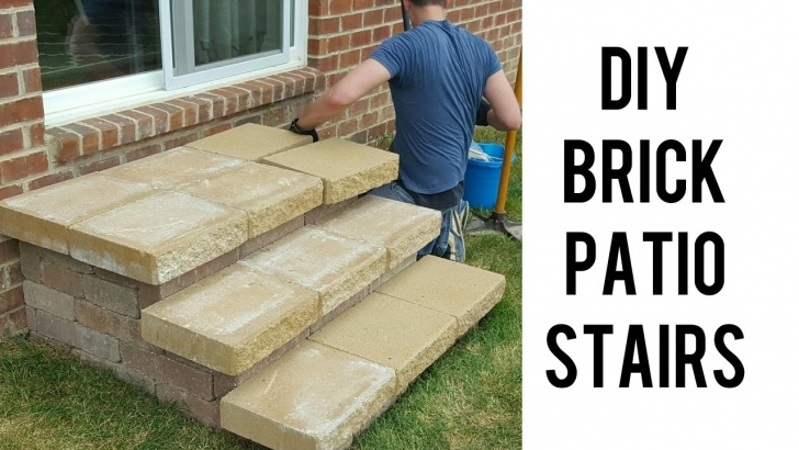 Top Diy Brick Steps Outside Image 612