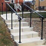 Top Exterior Stair Handrails Photo 403
