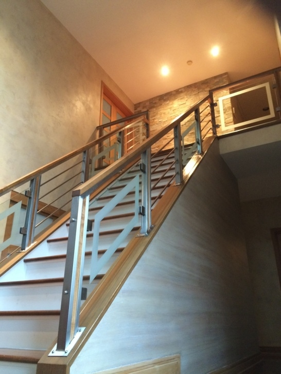 Top Glass Etching Designs For Staircase Photo 806