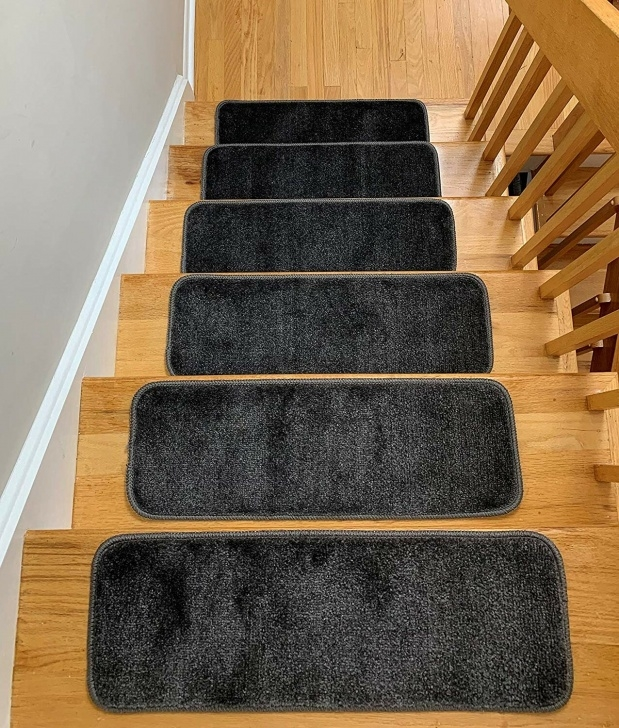 Top Gray Carpet Stair Treads Image 449