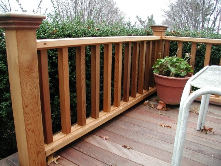 Top Lowes Wood Handrail Image 670