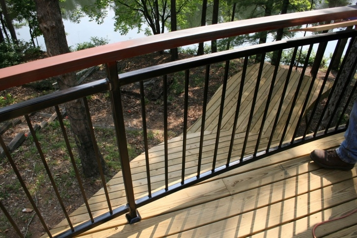 Top Metal Handrails For Decks Photo 521