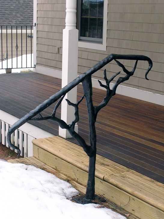Top Metal Outdoor Handrails For Stairs Picture 052