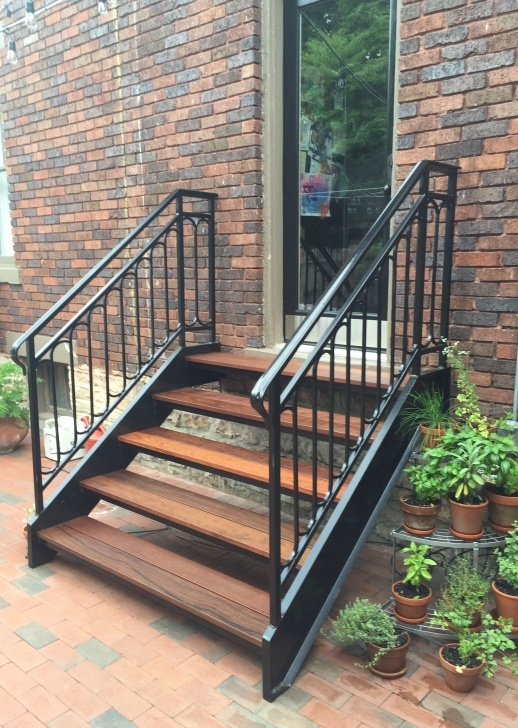 Top Outdoor Stair Handrail Picture 360