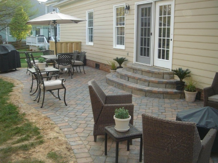 Top Patio With Stairs From House Photo 367
