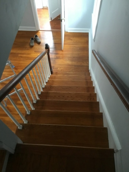 Top Refinishing Hardwood Stairs Photo 367