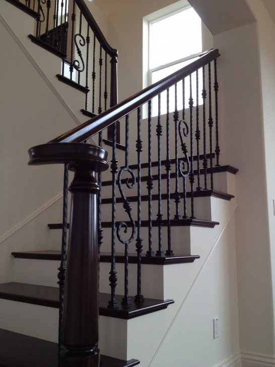 Top Rod Iron Staircase Picture 380