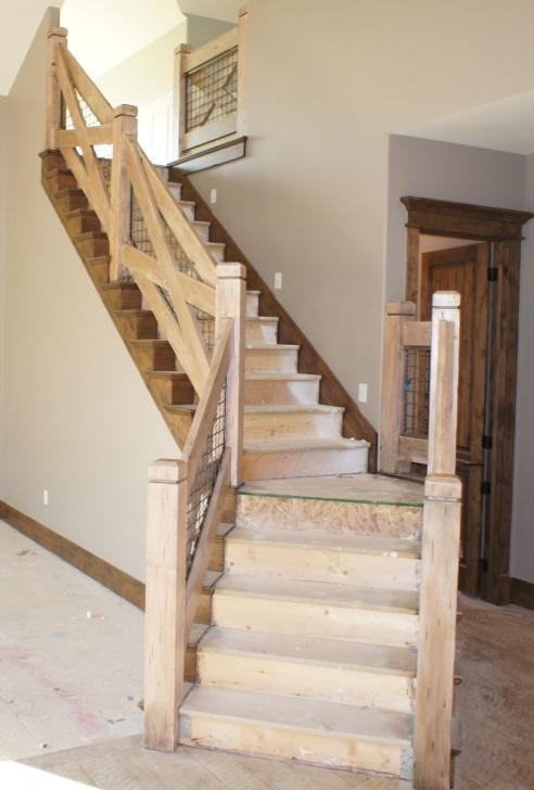 Top Rustic Stair Railing Image 772