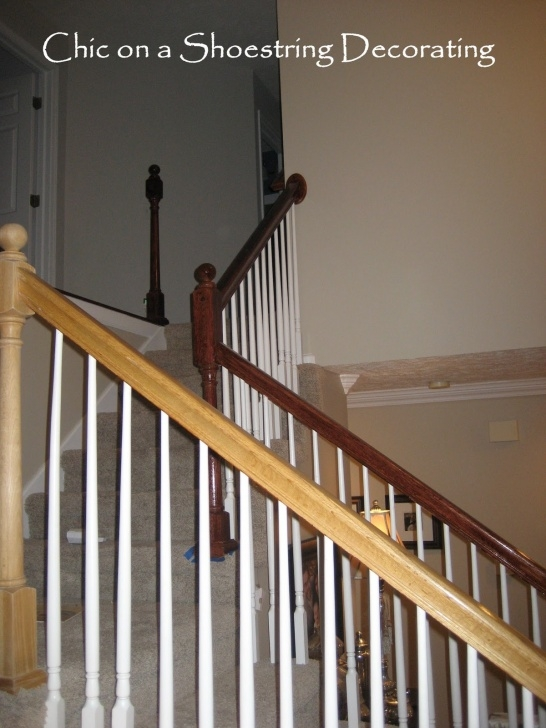 Top Staining Stair Rails Picture 508