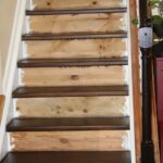 Top Staining Stair Treads Photo 602