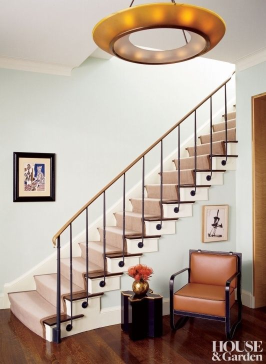 Top Stair Hall Design Picture 399