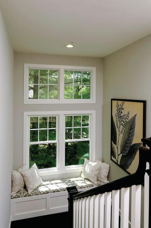 Top Staircase Landing Window Designs Photo 995