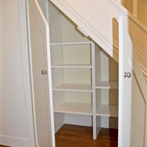Stairs With Cabinet Design