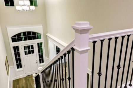 Updating Stair Railing