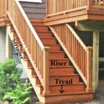 Top Wood Deck Stair Railing Photo 151