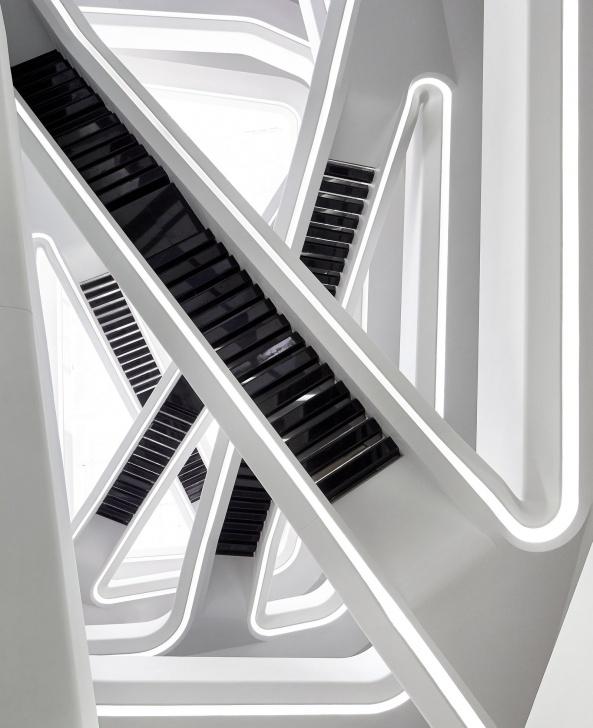 Top Zaha Hadid Stair Image 377