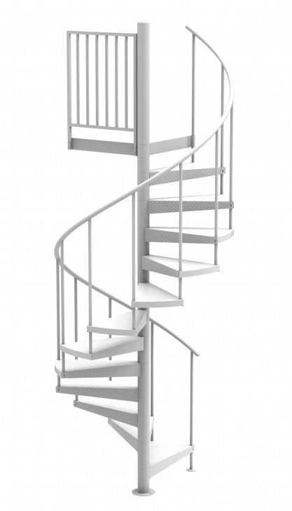 Wonderful Aluminum Spiral Staircase Picture 354