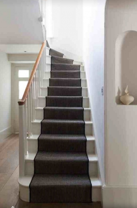 Wonderful Black And White Stair Runners Picture 673