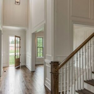 Double Molding Stairs