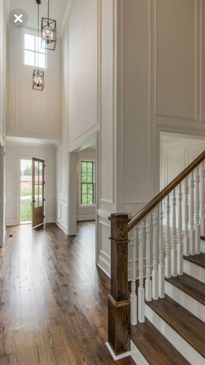 Wonderful Double Molding Stairs Photo 994