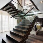 Wonderful House Interior Steps Design Photo 950