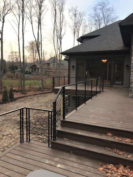 Wonderful Modern Outdoor Stair Railing Image 576