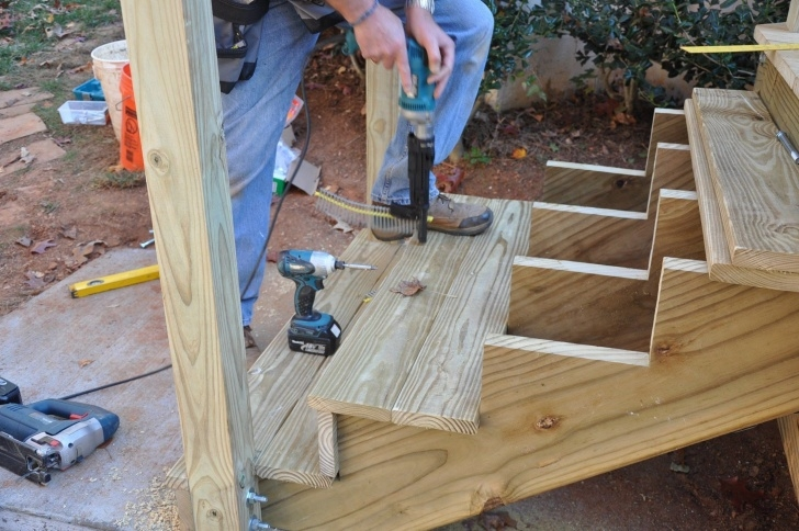Wonderful Outdoor Stair Risers Picture 886