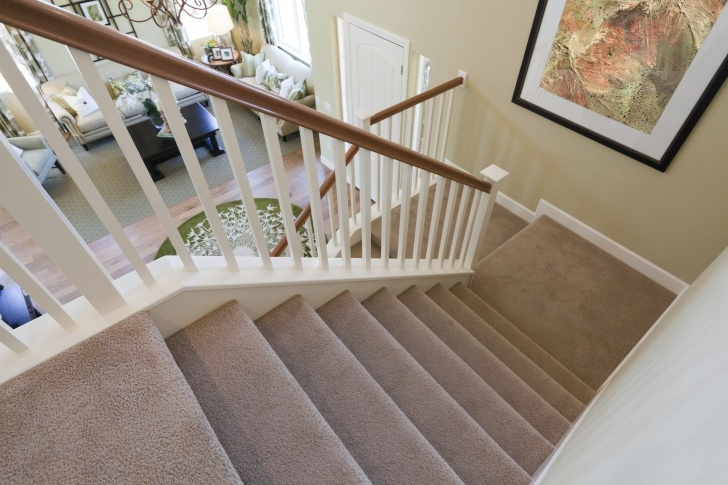 Wonderful Polyester Carpet On Stairs Picture 865