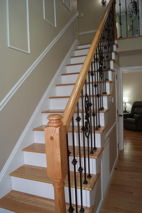 Wonderful Red Oak Stairs Photo 415