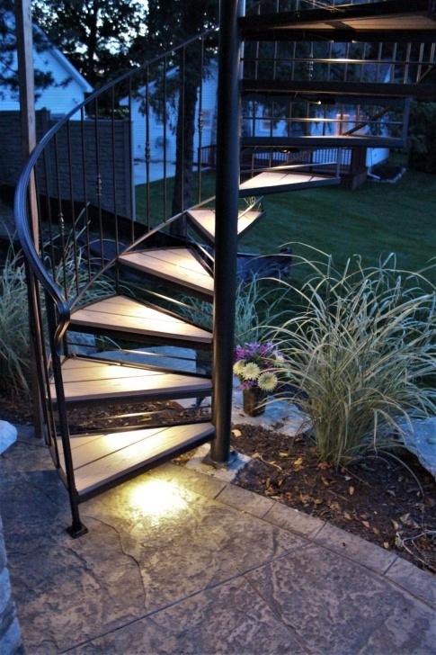 Wonderful Spiral Deck Stairs Photo 629