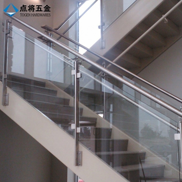 Wonderful Stainless Steel Staircase With Glass Designs Image 674