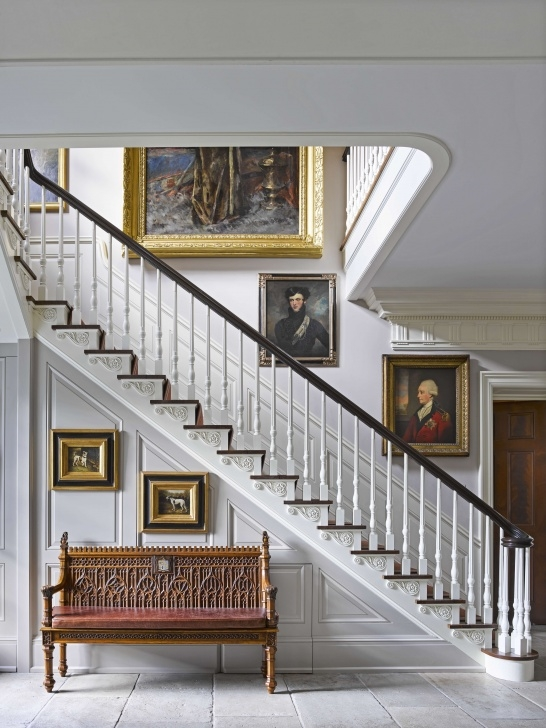 Wonderful Stair Hall Design Photo 066
