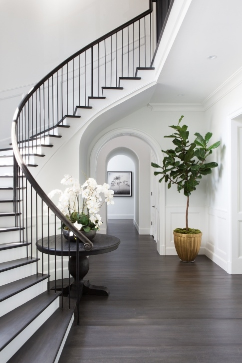 Wonderful Staircase Exterior Wall Design Image 435